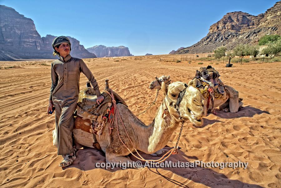 Diffala & his camels