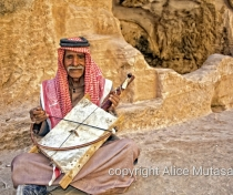 Salman - I think every tourist who visits Little Petra has a photo of him (his singing is quite terrible!)