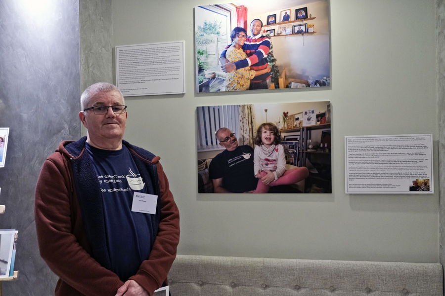 John at the 'Youth Justice in Focus' Exhibition preview