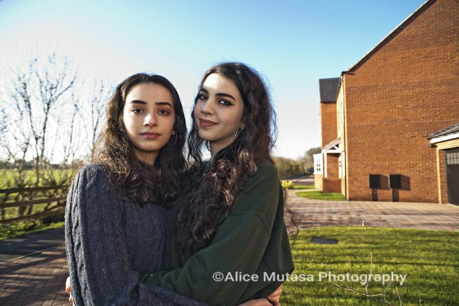Malak (L) & Maha (R)