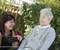 Pamela and her solicitor Nicola Mackintosh