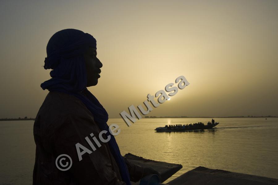 Koudede, sur le fleuve Niger, Tombouctou / Timbuktu