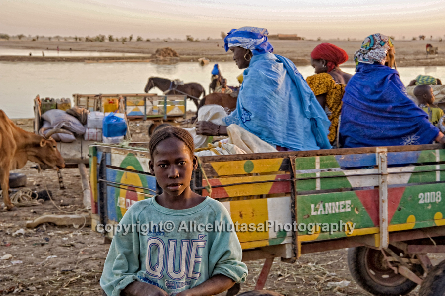 Djenne river crossing 01