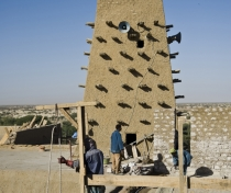 Repairs to Djingareyber Mosque, Timbuktu