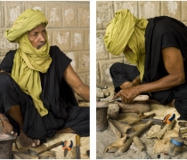 Abdou - forgeron / Touareg artisan