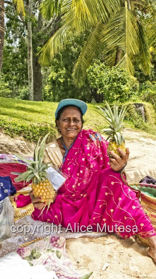 Rita - coconut seller