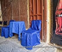 In the medina....