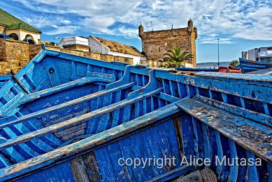 Essaouira port in HD #3