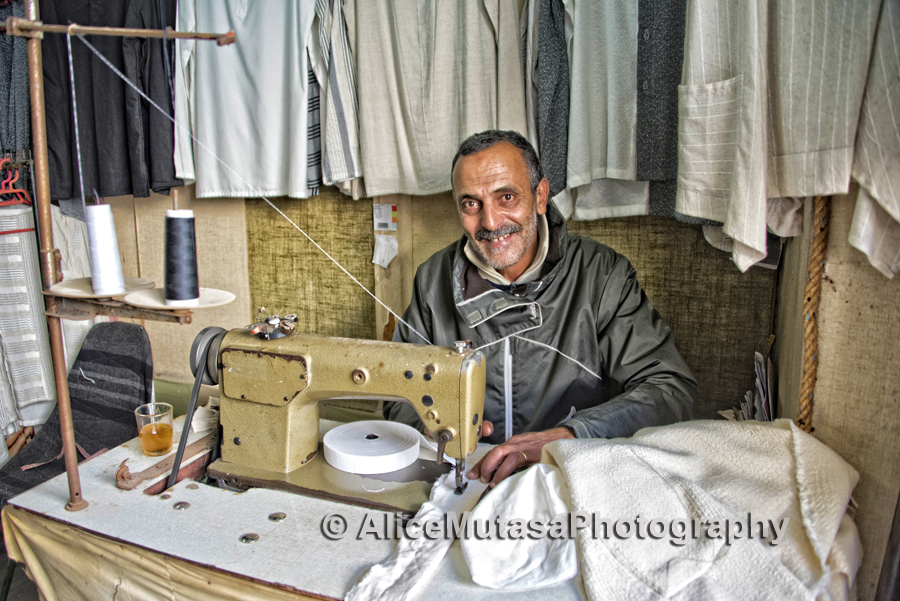 Zaki Mohamed the tailor