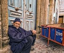 Fares Samo - RIP - our favorite Carossa in Essaouira; sadly passed away a few years ago.