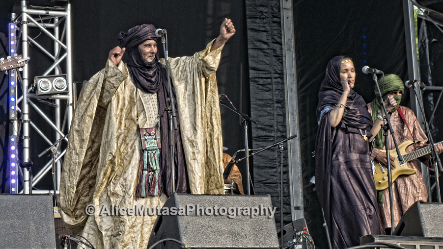 Tinariwen at Walthamstow Garden Party, 2017