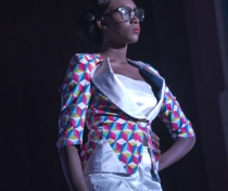 Collection 'Femme D'Affaires' by Camerounian designer Bonfils Soul'man