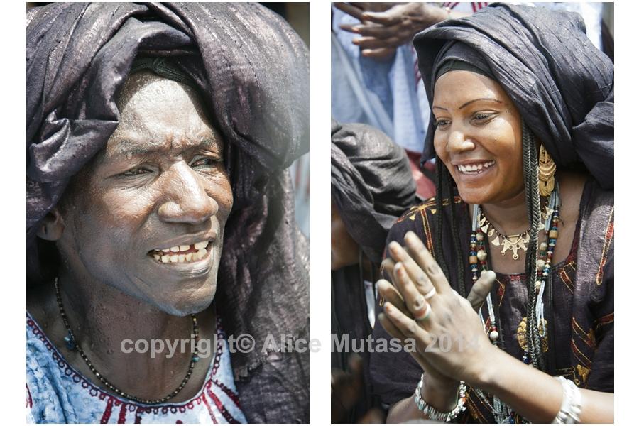 Aminata (singer) & Salamatou (journalist)