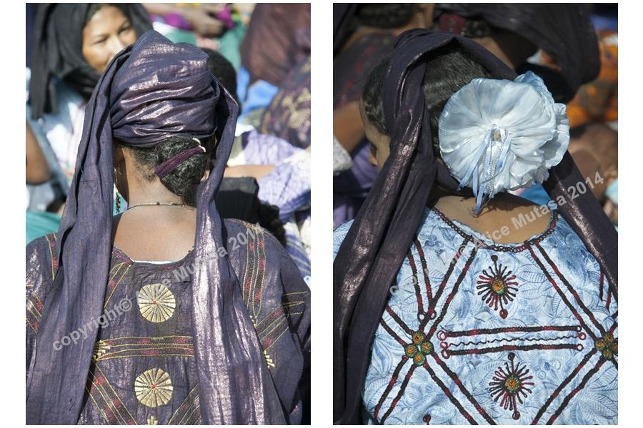 Touareg women