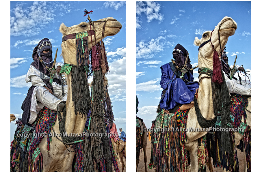 Touaregs and best dressed camels...!