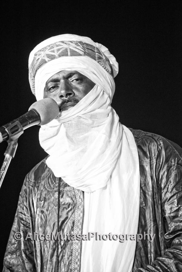 Abdallah Ag Alhousseyni from Tinariwen