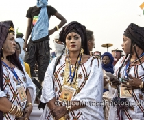 Touareg women in their best jewellery....