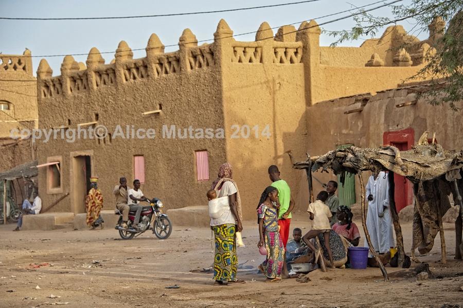 Agadez - old town