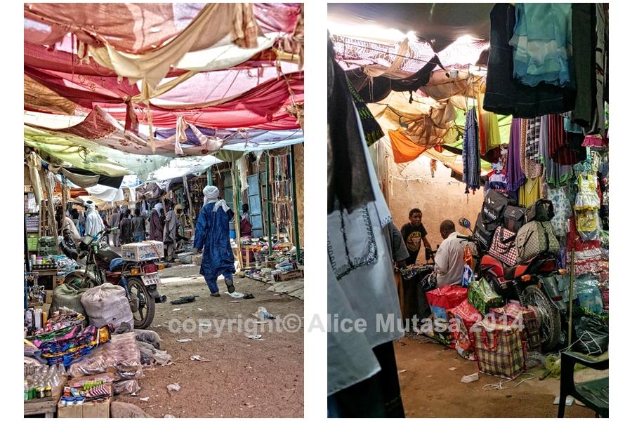 Agadez market