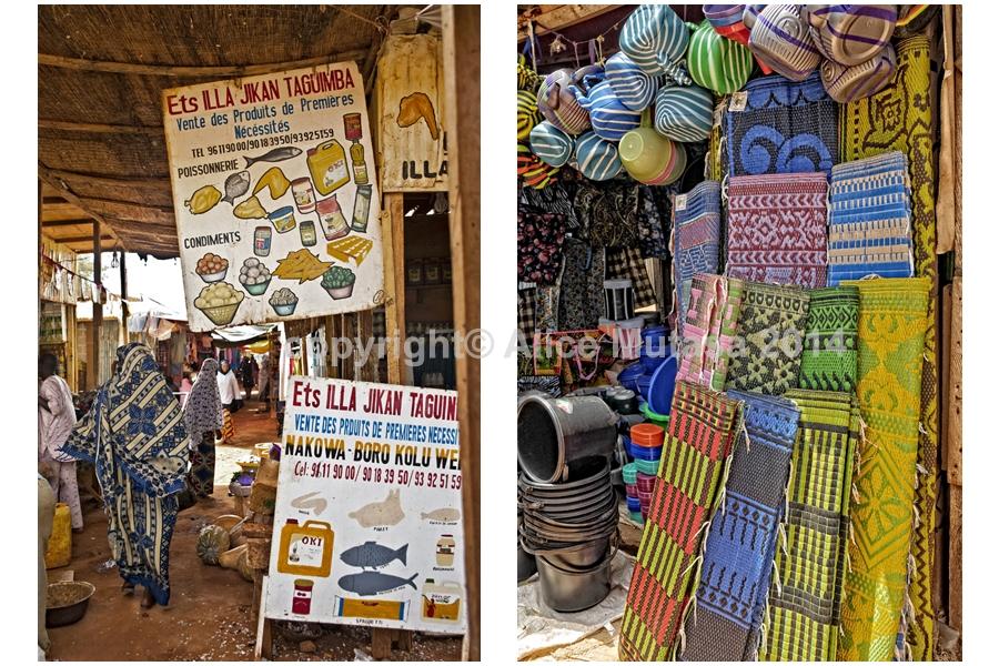 Niamey markets - Yantalla & Bonkanay