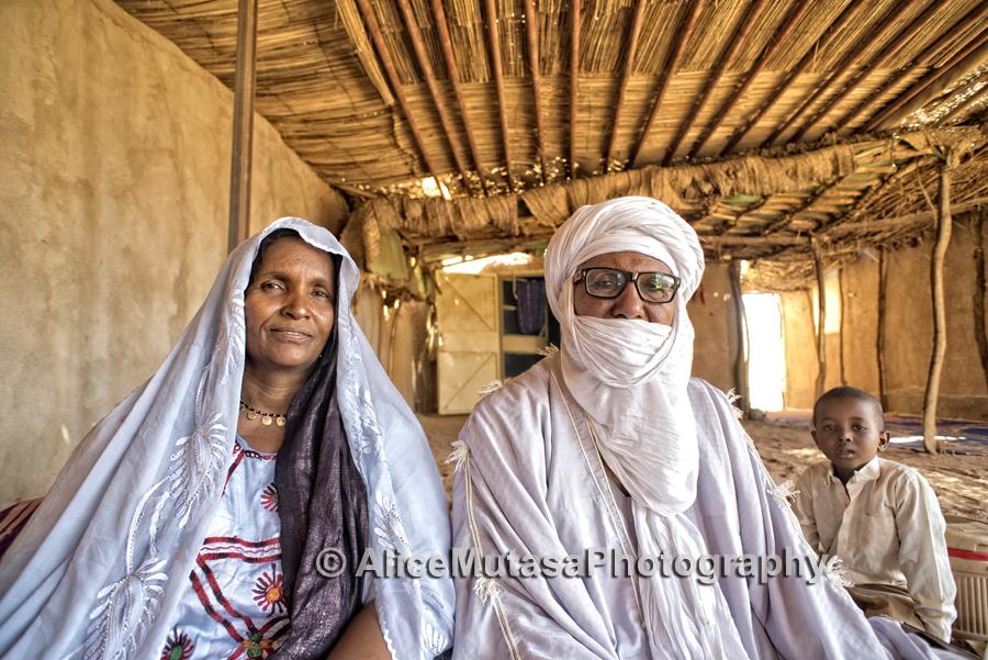 Aichatou & her husband - the Imam of Tchirozerine mosque