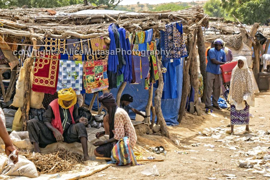 Boubon market / marché de Boubon
