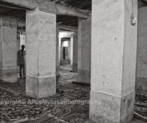 Agadez mosque - interior