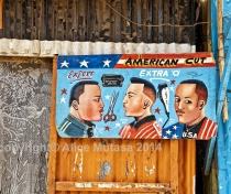 'American cut' - Niamey