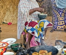 Budu - la voisine de la famille de Koudede, Niamey