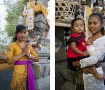 Marianne / Juni & baby Dewi: family shrine ceremony