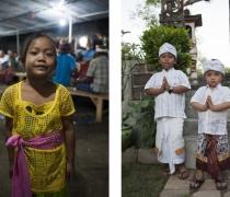 Luh/Kadek Yoga Perana & Brandon: Family shrine ceremony, Sumerkima village