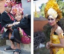 Kadek & Hermalini: students of 'Yap Foundation' project, performing at Buleleng festival, Singaraja