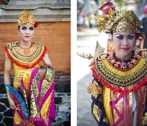 Gusti Sura & Cantik: students of 'Yap Foundation' project, Buleleng festival, Singaraja, Bali