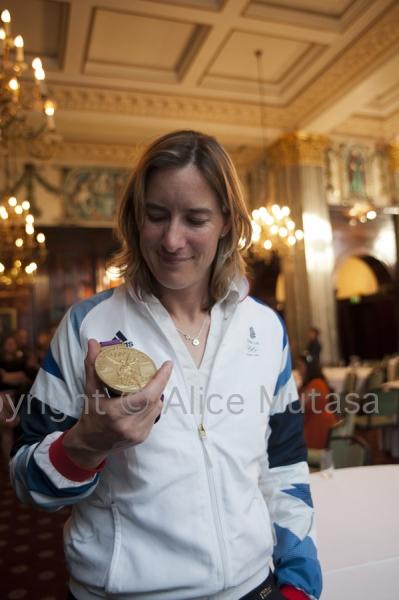 Katherine Grainger: Olympic gold medallist, London 2012