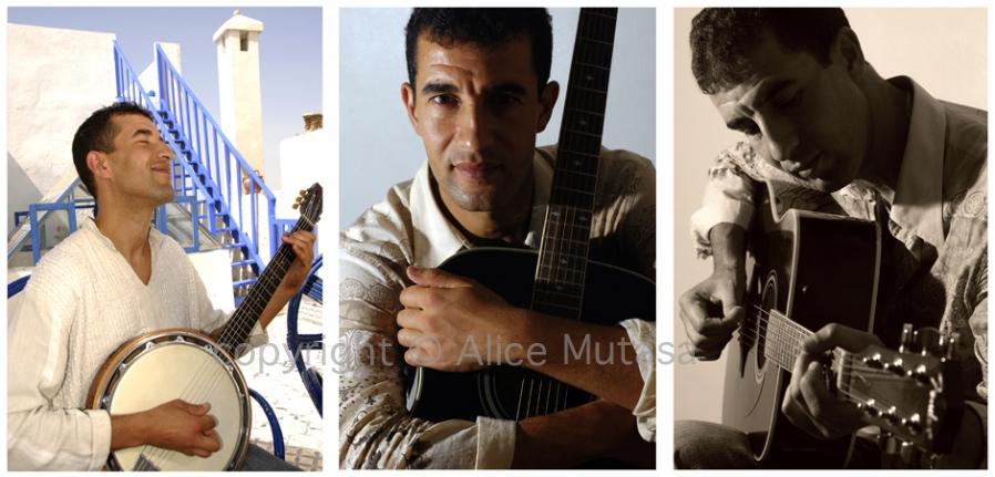 Abdenour: musician, Paris