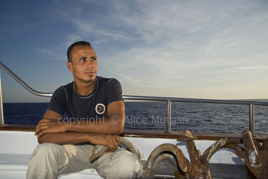 Mahmoud: sailor; Egyptian Red Sea (2009)