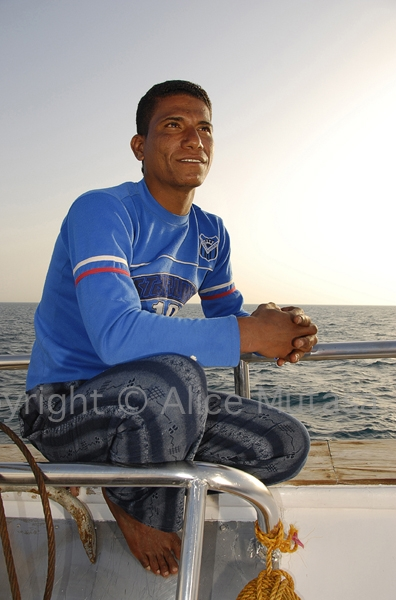 Taha: sailor, Egyptian Red Sea (2008)