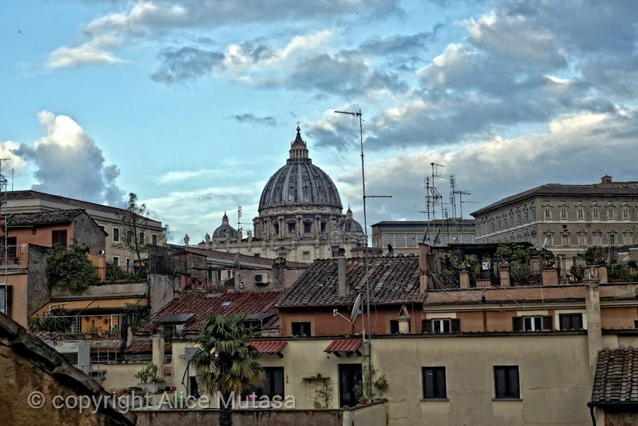 San Pietro, early morning