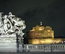 Sant'Angelo at night