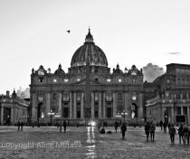 San Pietro at dusk