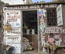 Street scene; Guet Ndar - fishing village near Saint Louis
