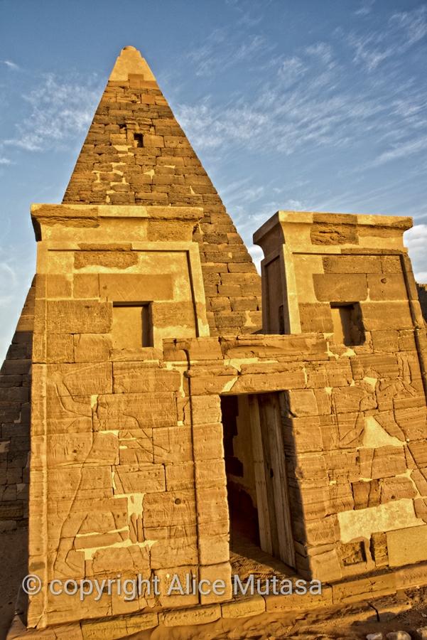 Meroë pyramids