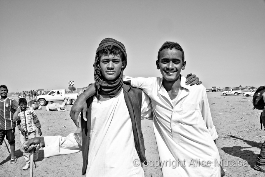 Hamid & Ali, Omdurman camel market