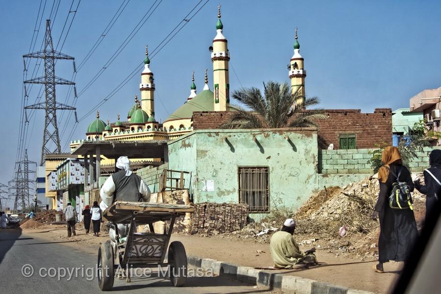 Street life, on the road to Karima