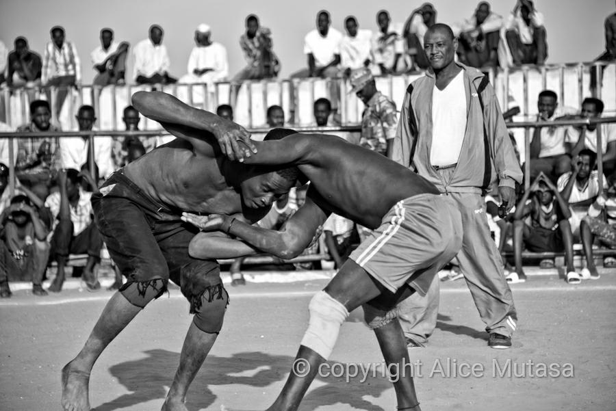 Traditional Nuba wrestling, Omdurman