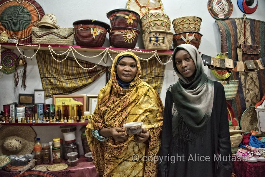 Alraida and Ayaat; perfume shop in Port Sudan