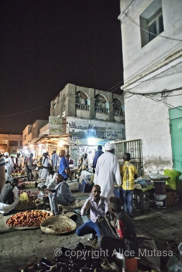 Port Sudan market