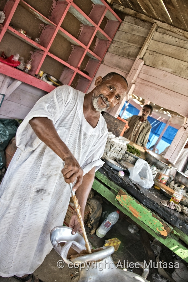 Mohamed - Ful chef, near Suakin