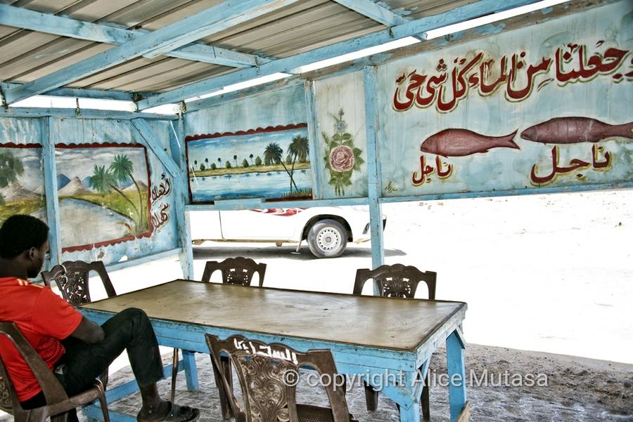 Fish restaurant, Suakin