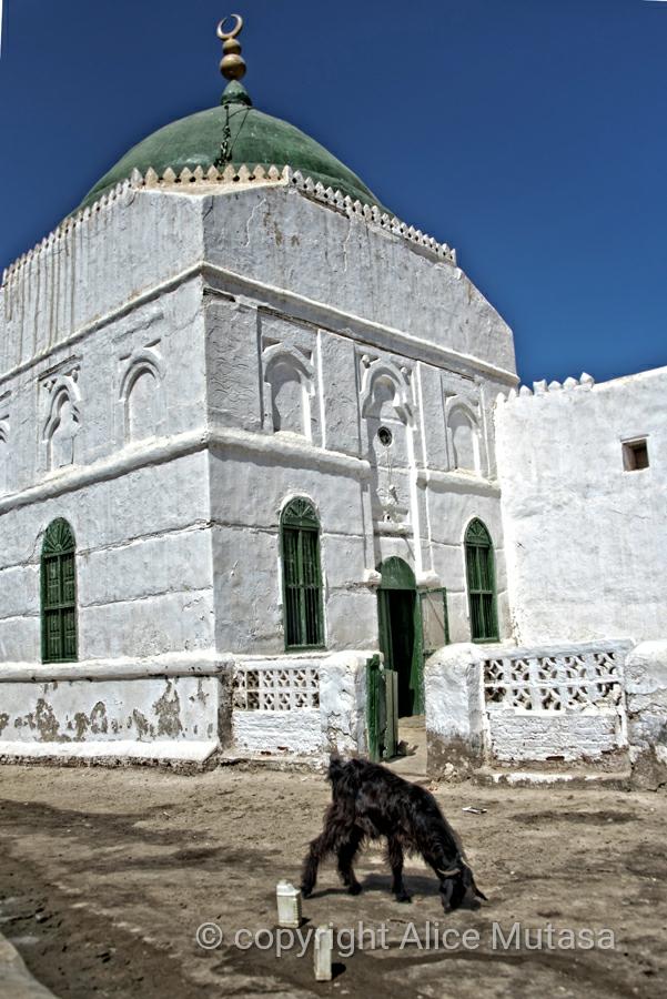 Beautiful mosque in Suakin